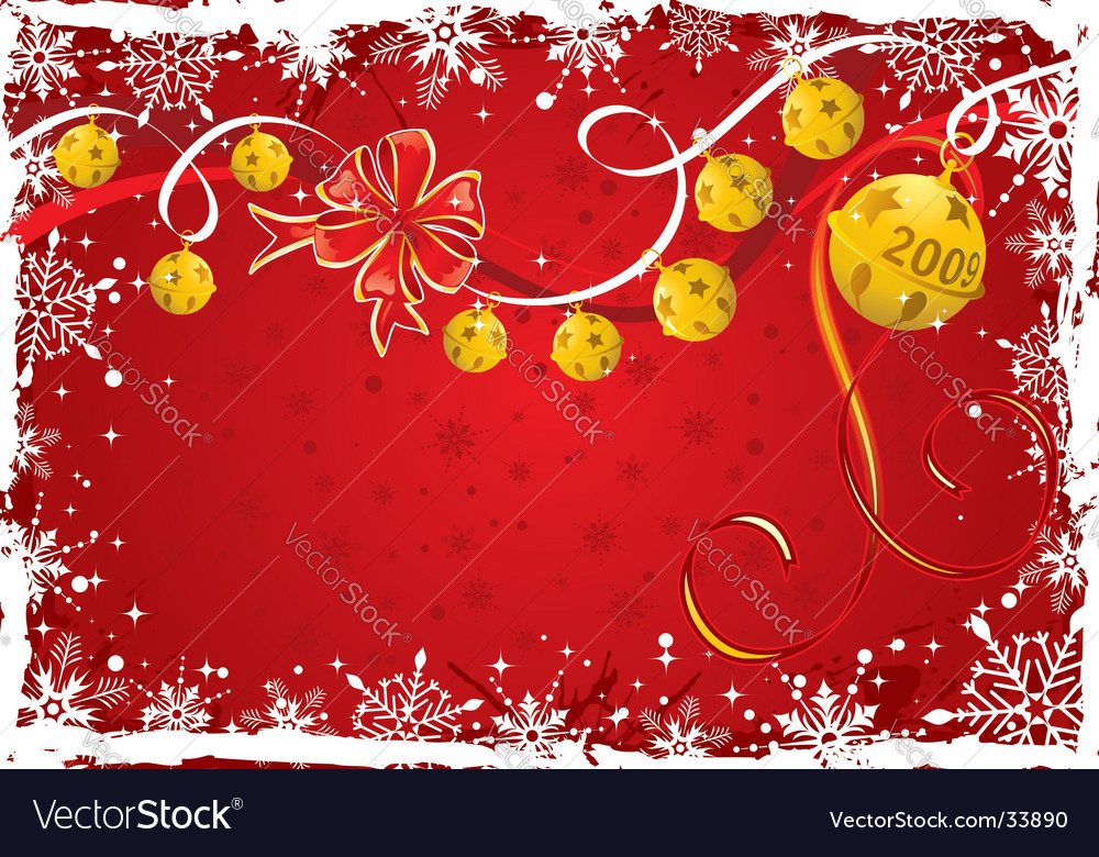 Christmas background frame vector | Price: 1 Credit (USD $1)