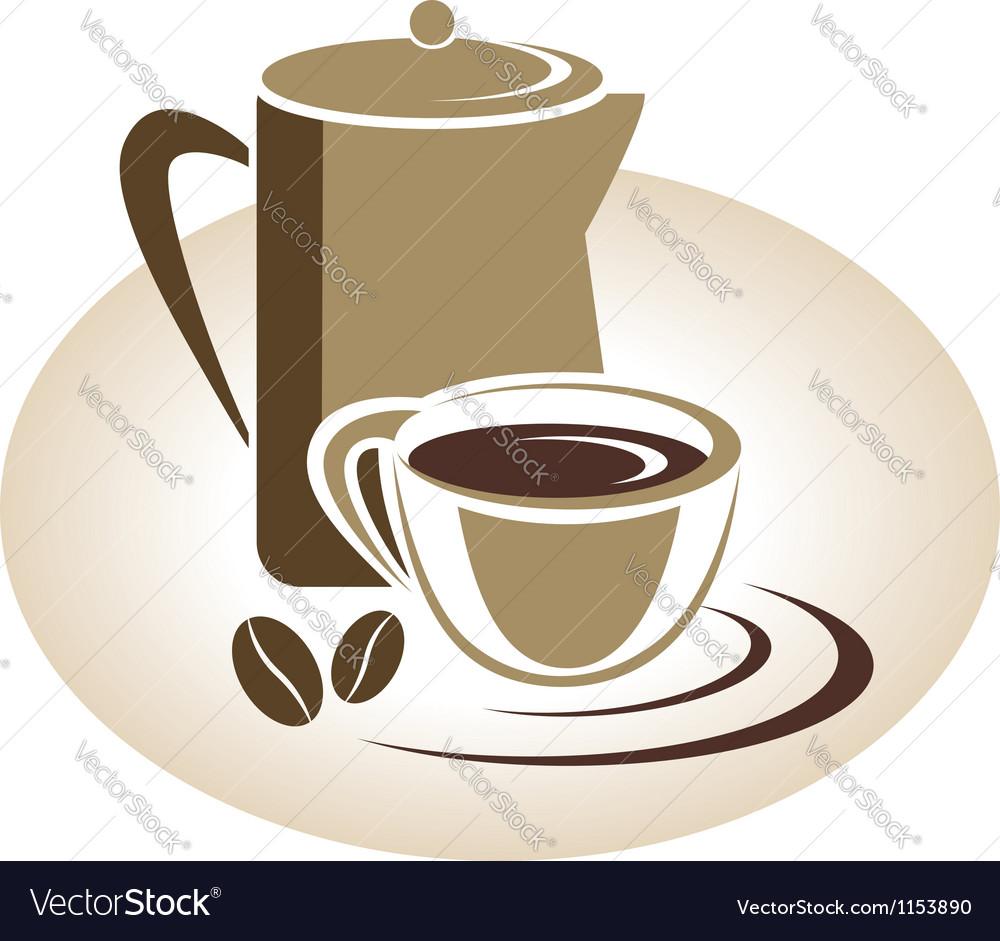 Coffee menu icon vector | Price: 1 Credit (USD $1)