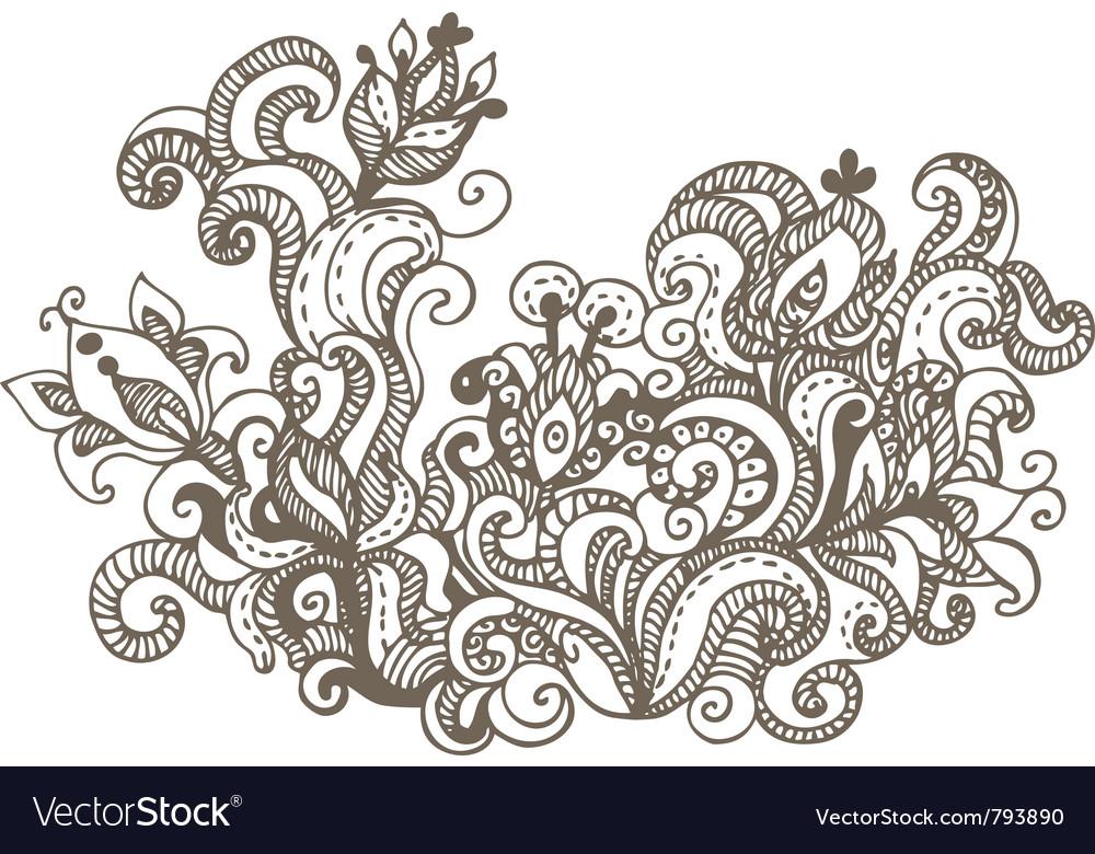 Doodles design elements vector | Price: 1 Credit (USD $1)