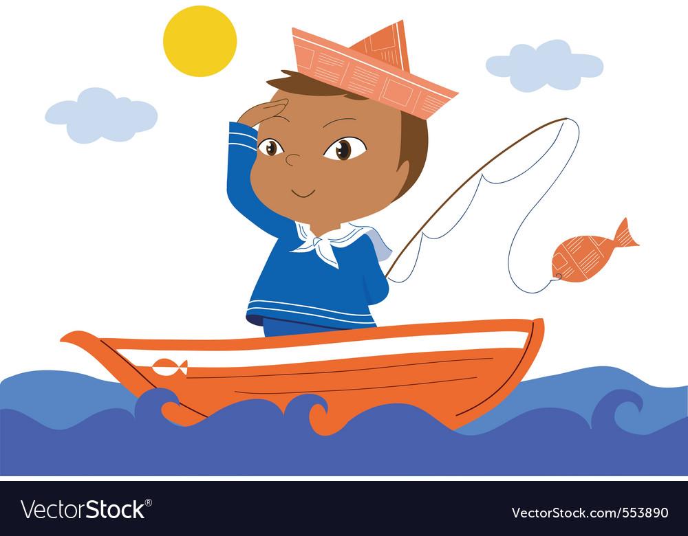 Little sailor vector   Price: 1 Credit (USD $1)