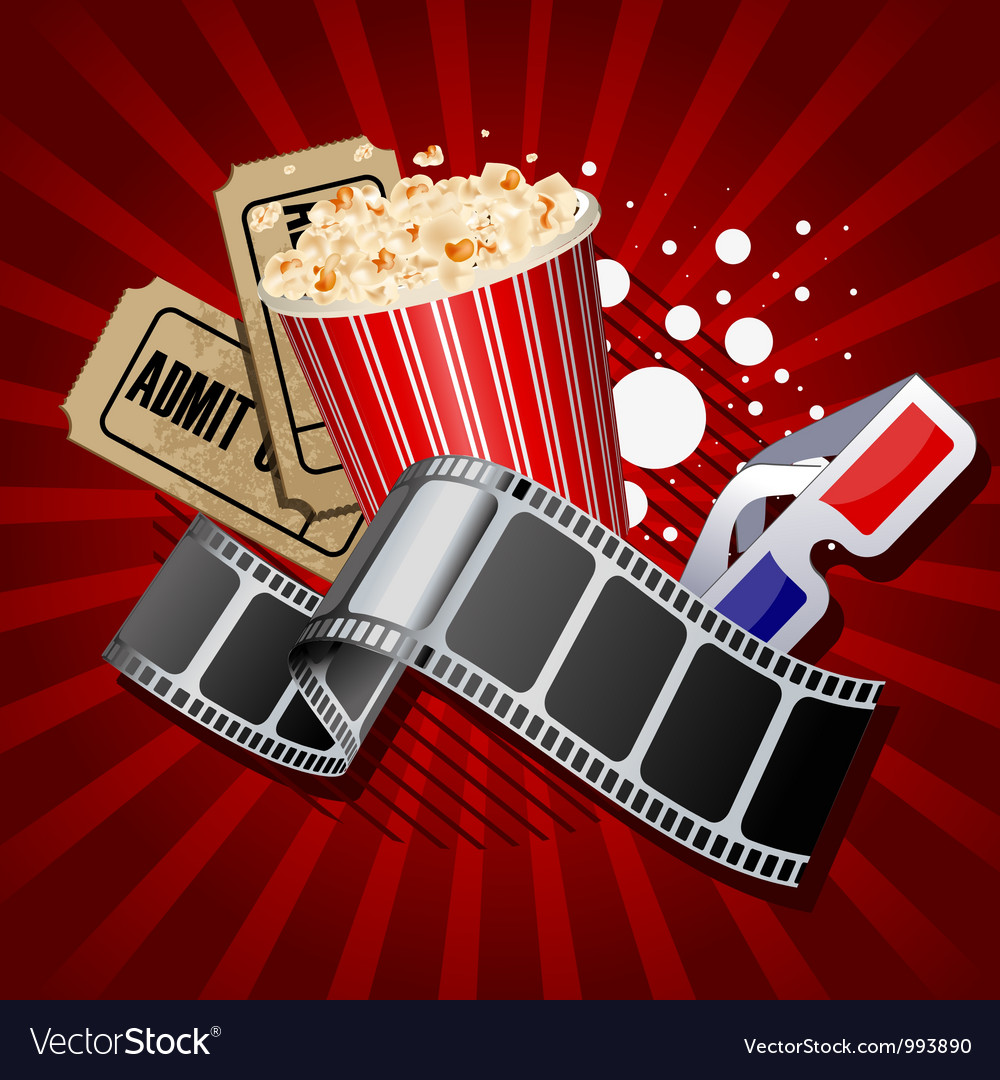Movie vector | Price: 3 Credit (USD $3)