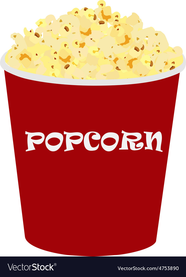 Popcorn vector   Price: 1 Credit (USD $1)