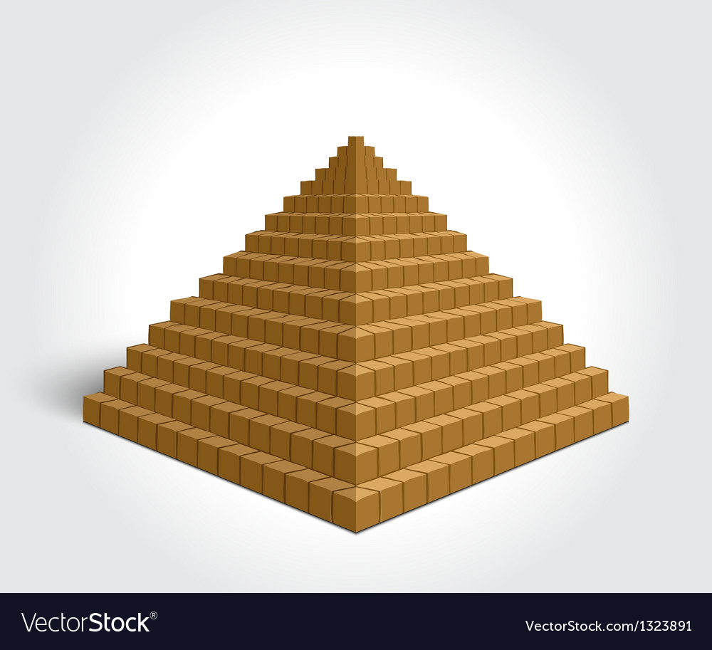 Egyptian pyramid vector | Price: 1 Credit (USD $1)