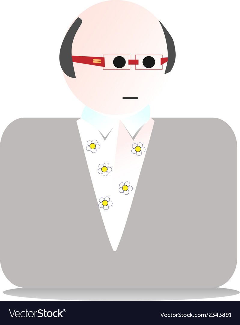 Man fashion vector