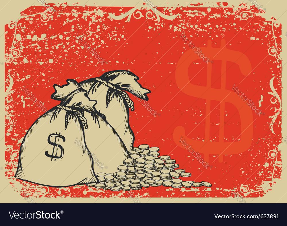 Money bags vector   Price: 1 Credit (USD $1)