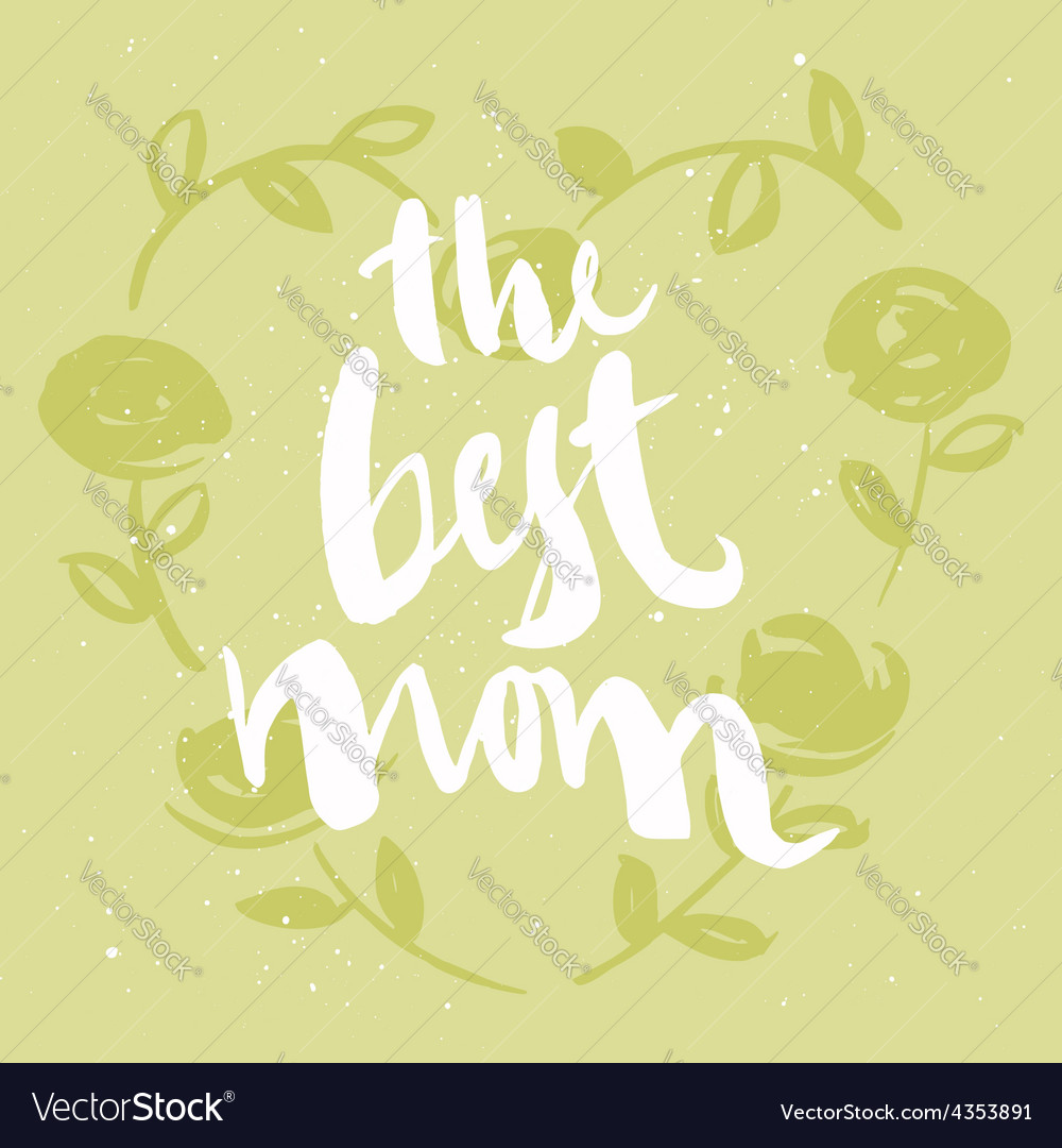 Mothers day card vector | Price: 1 Credit (USD $1)