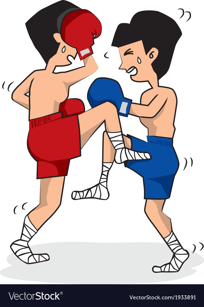 Thai boxing vector   Price: 1 Credit (USD $1)