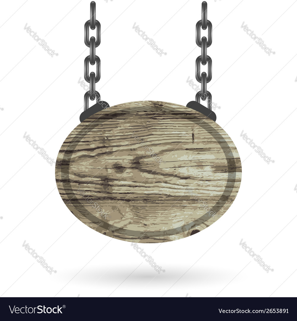 Wood sign vector | Price: 1 Credit (USD $1)
