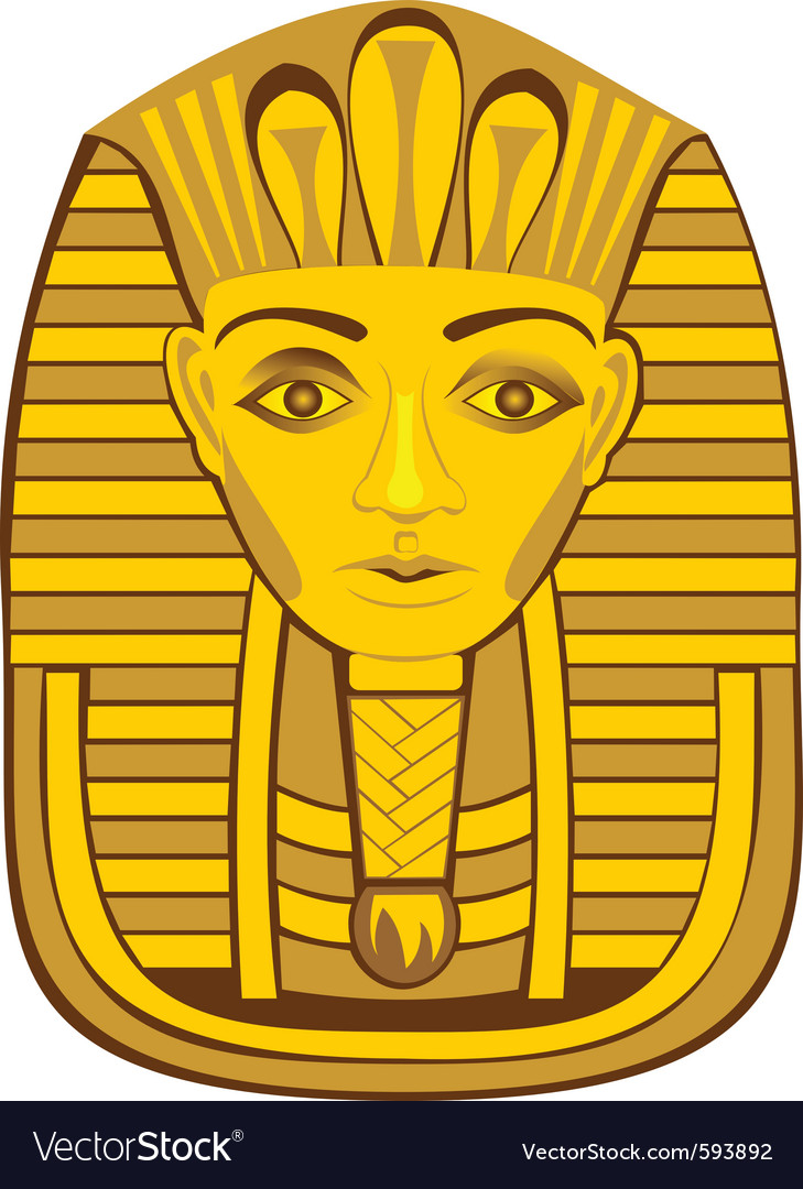 Golden pharaoh vector | Price: 1 Credit (USD $1)