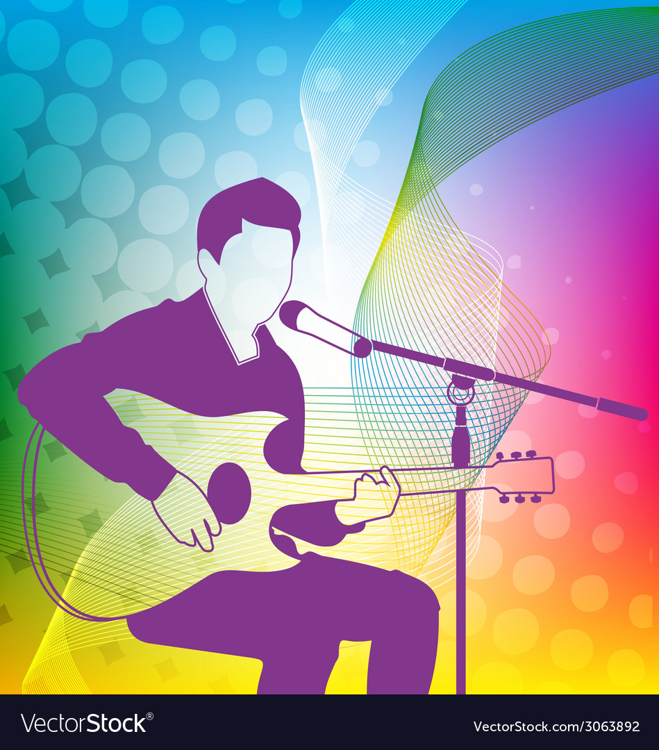 Singer vector | Price: 1 Credit (USD $1)