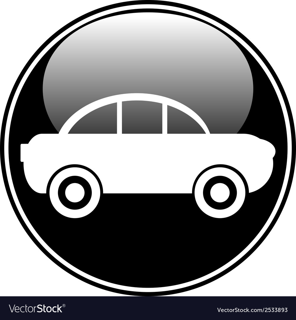 Car button vector | Price: 1 Credit (USD $1)