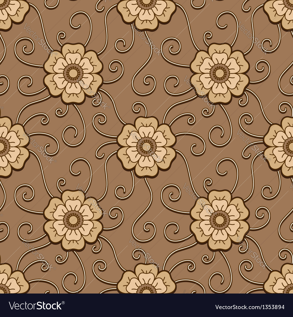 Cream pattern vector | Price: 1 Credit (USD $1)