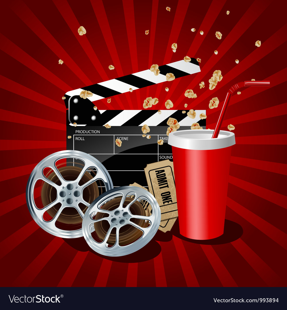 Movie vector | Price: 5 Credit (USD $5)