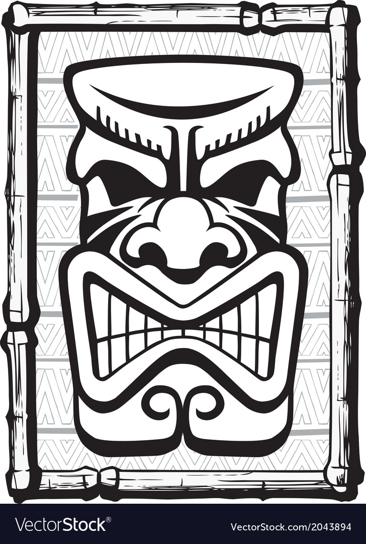 Tiki also vector | Price: 1 Credit (USD $1)