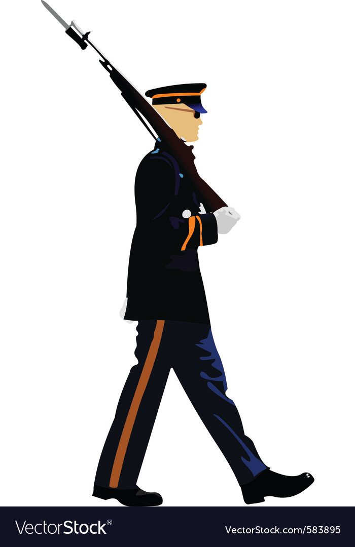 American guard vector | Price: 1 Credit (USD $1)
