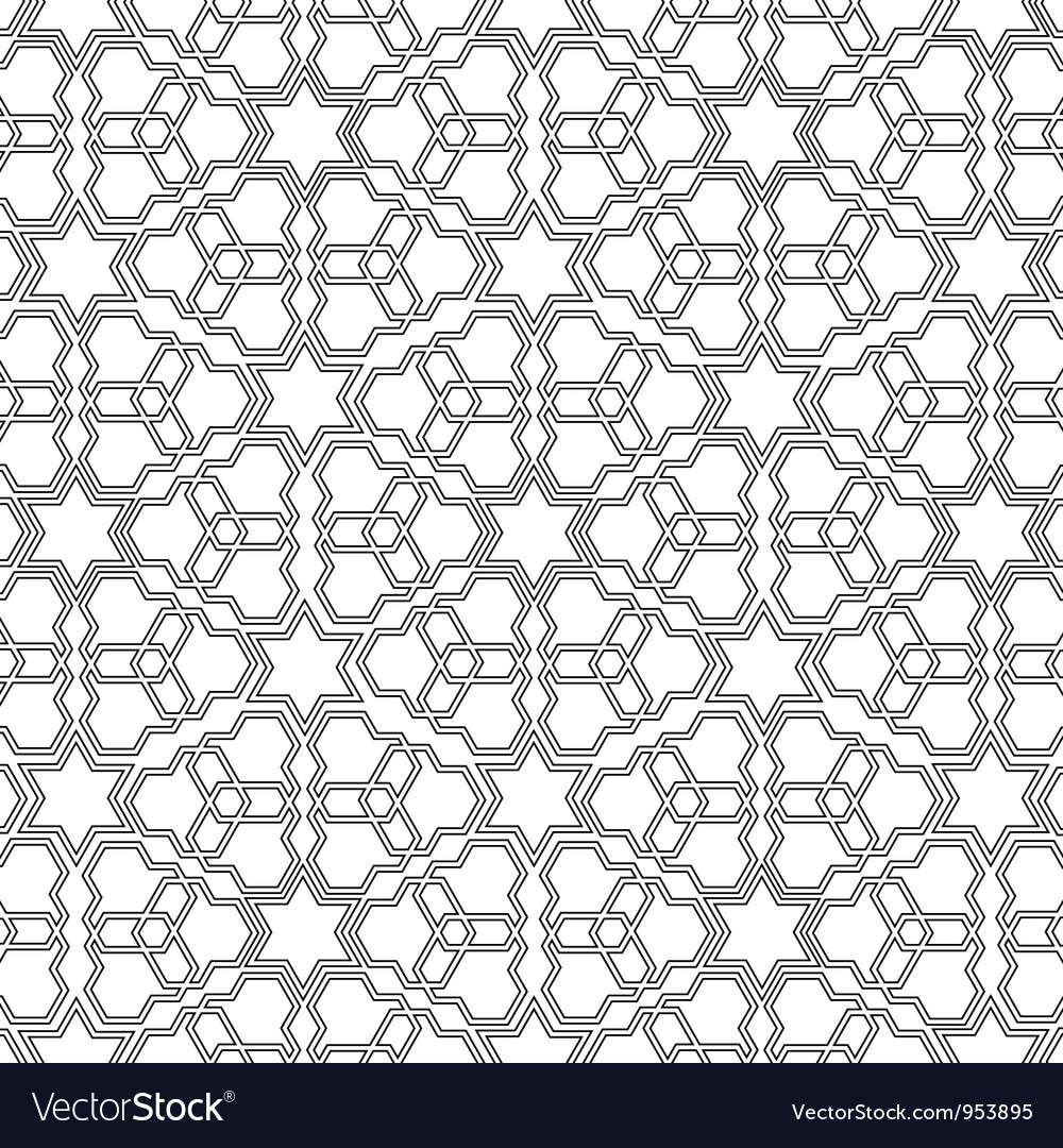 Arabian delicate pattern vector | Price: 1 Credit (USD $1)