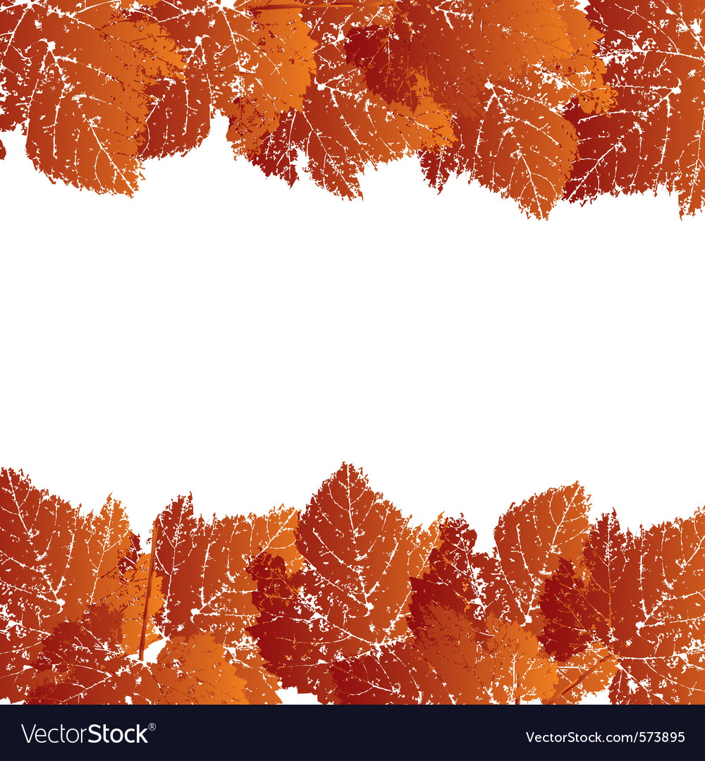 Autumn grunge background vector | Price: 1 Credit (USD $1)