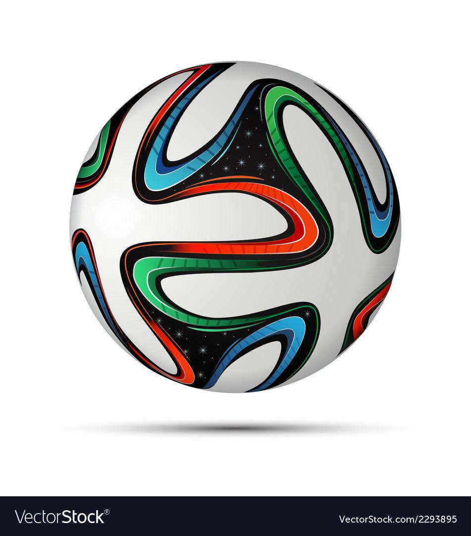 Football ball 2014 vector | Price: 1 Credit (USD $1)