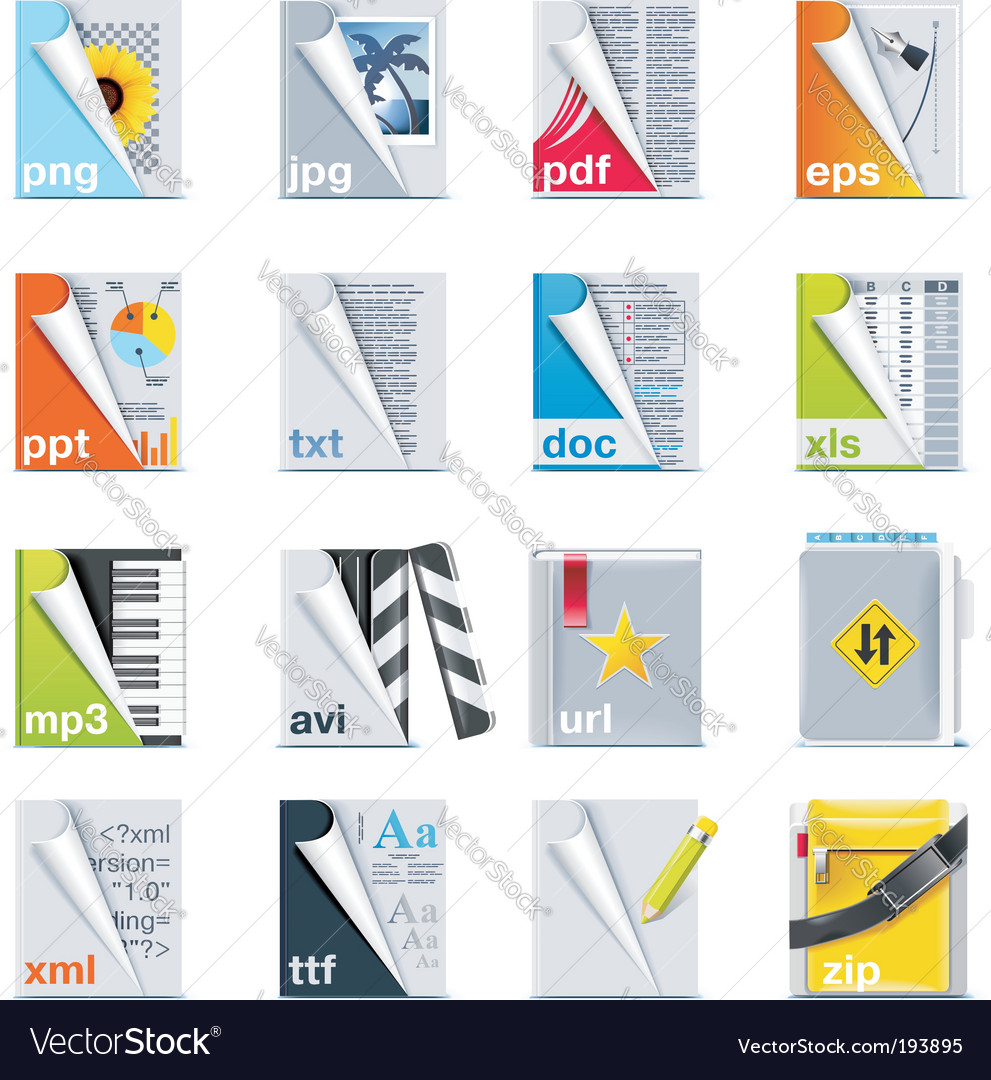 Office stationery vector | Price: 3 Credit (USD $3)