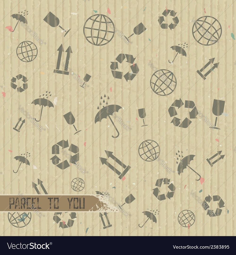 Pattern of symbols transportation vector | Price: 1 Credit (USD $1)