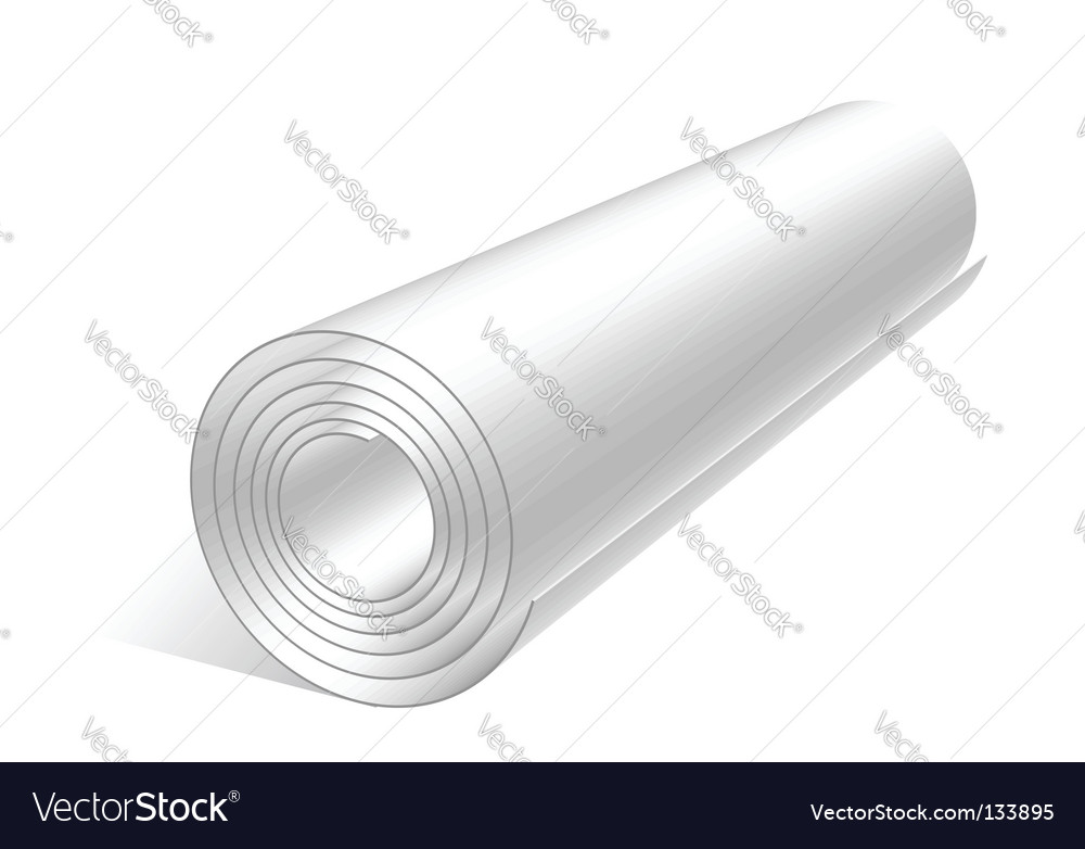 Sheet roll vector | Price: 1 Credit (USD $1)