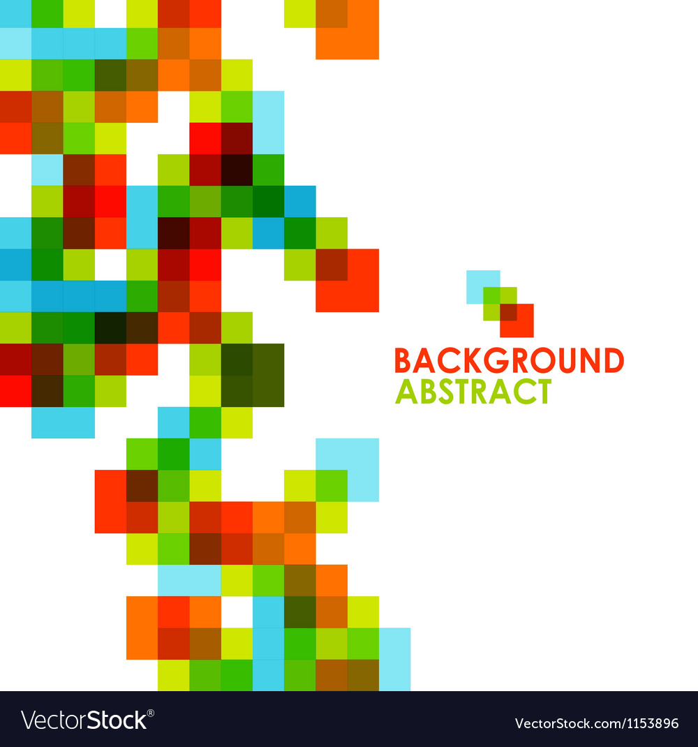 Colorful modern geometric abstract background vector | Price: 1 Credit (USD $1)
