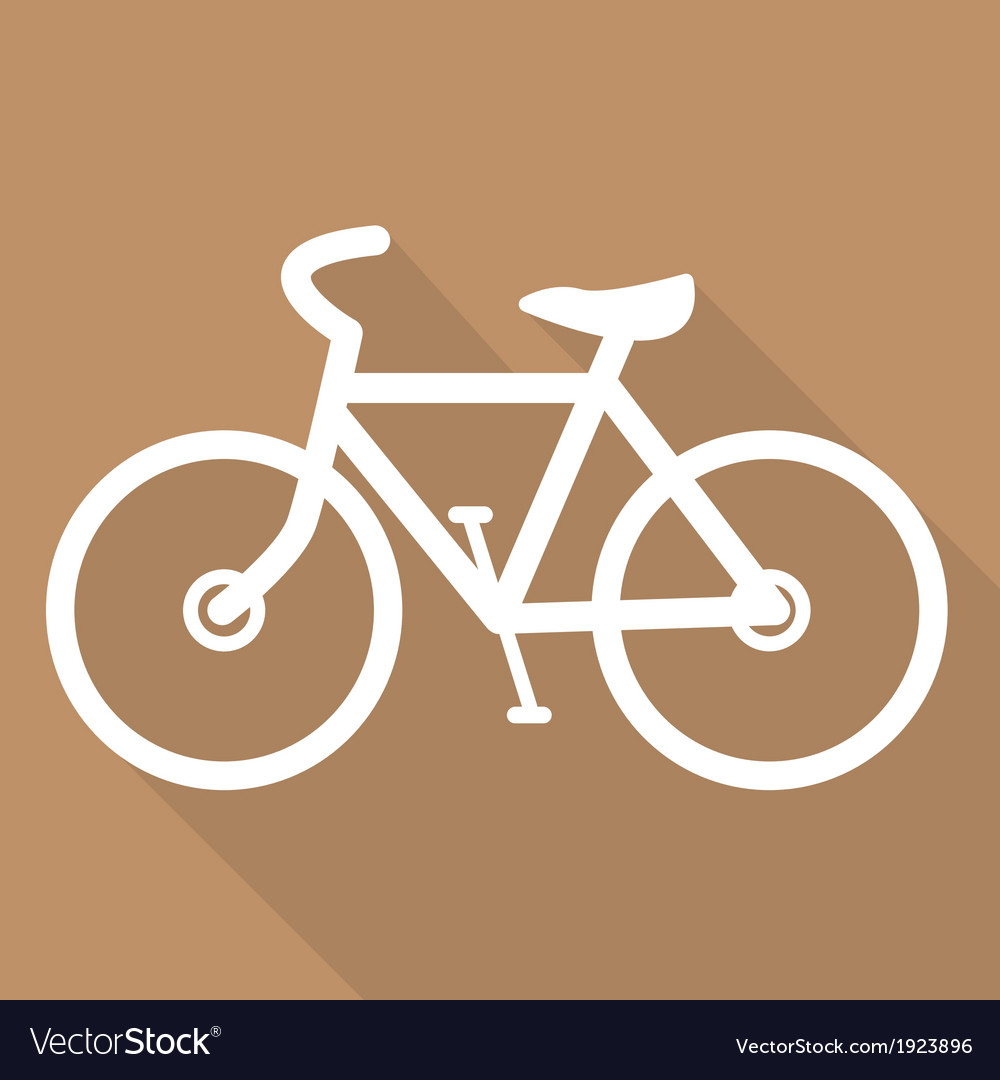 Hipster retro bicycle icon vector   Price: 1 Credit (USD $1)