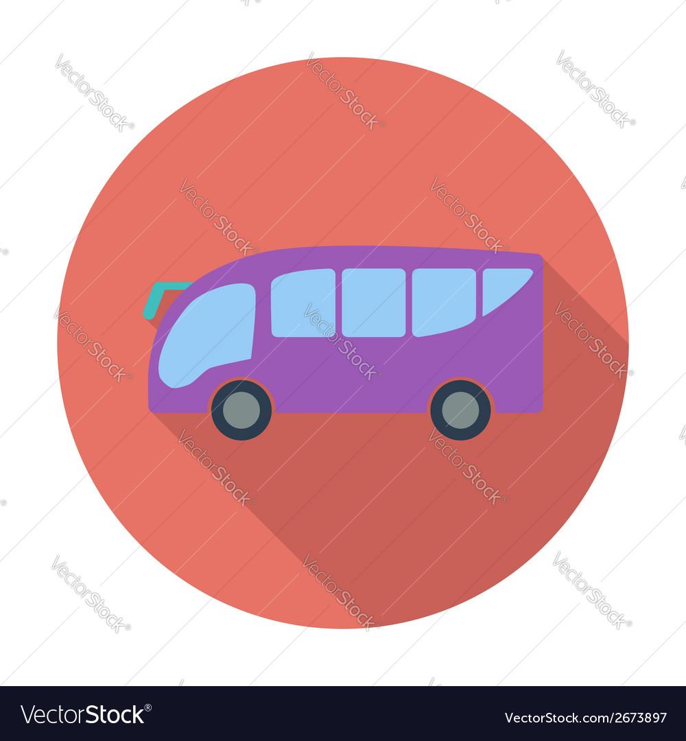 Bus icon vector | Price: 1 Credit (USD $1)