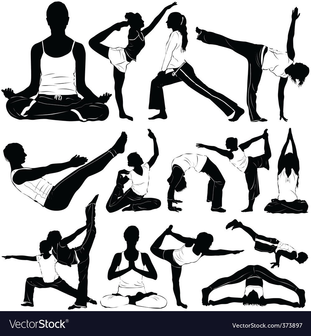 Yoga clothes detail vector | Price: 1 Credit (USD $1)