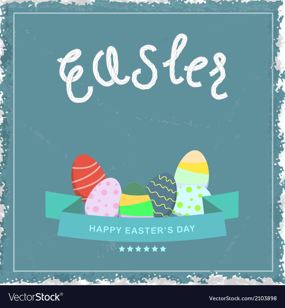 Easter egg eps10 vector | Price: 1 Credit (USD $1)