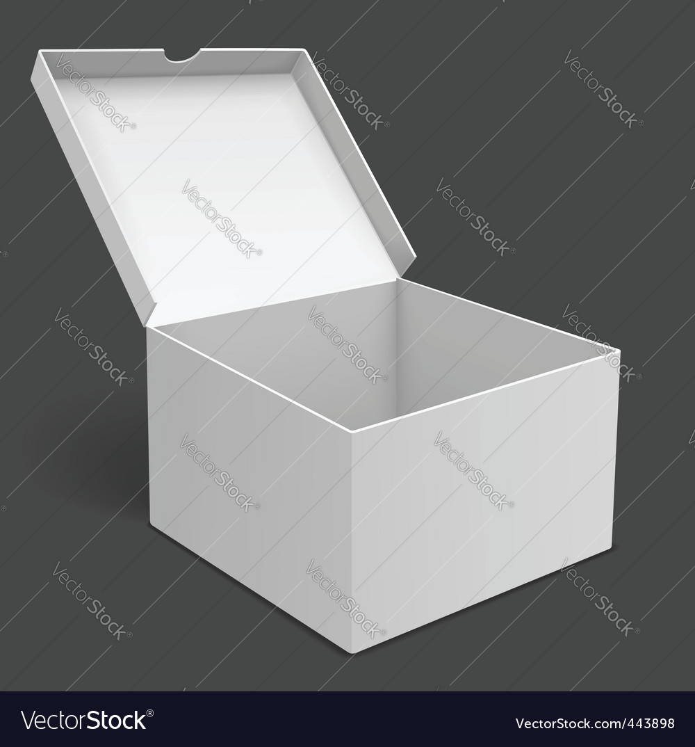 Packing box vector | Price: 1 Credit (USD $1)