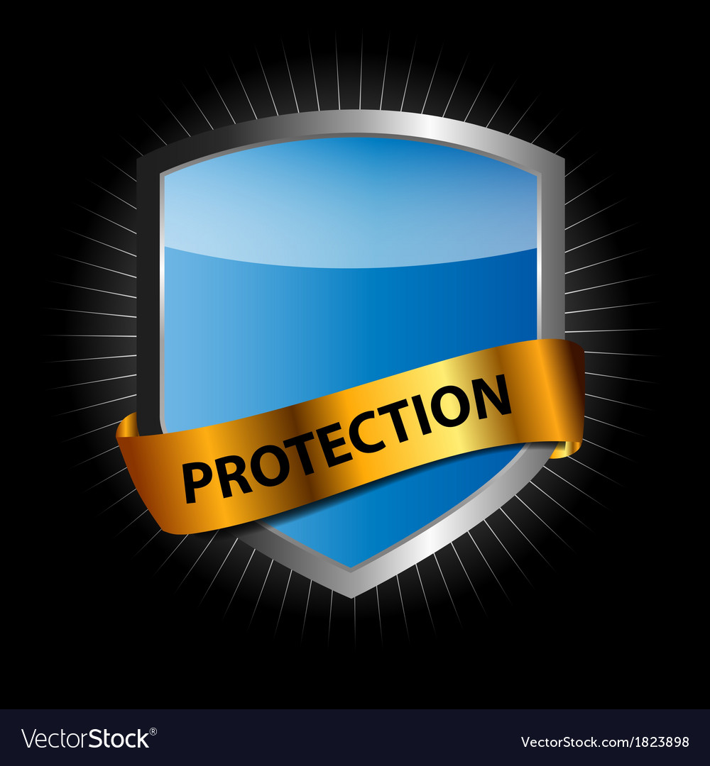 Protect shield vector | Price: 1 Credit (USD $1)