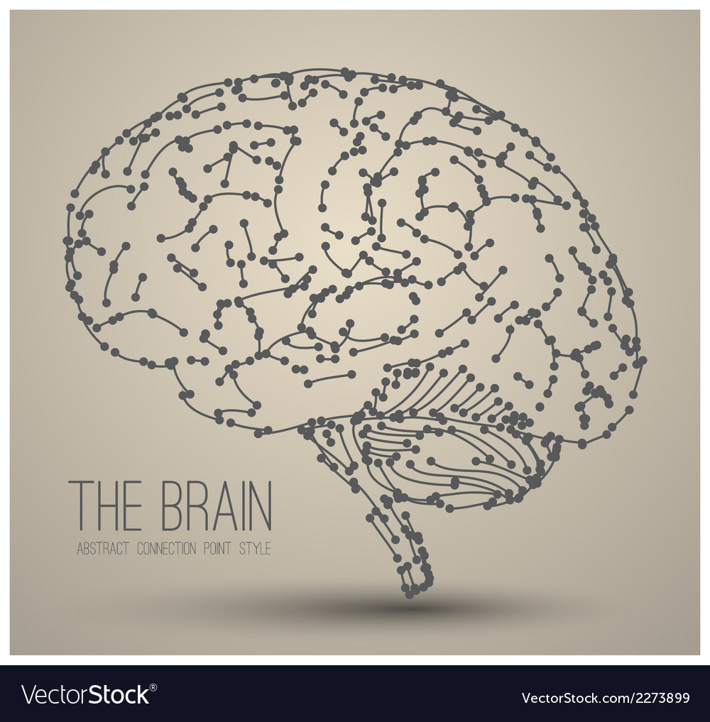Brain abstract vector | Price: 1 Credit (USD $1)