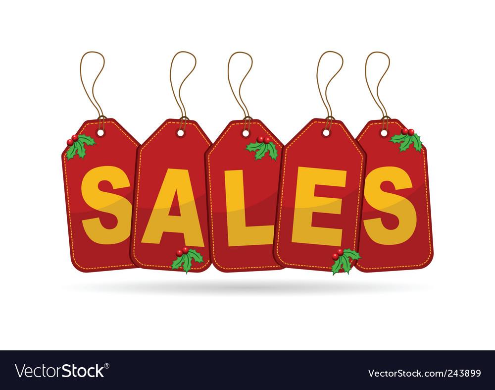Christmas sales vector | Price: 1 Credit (USD $1)