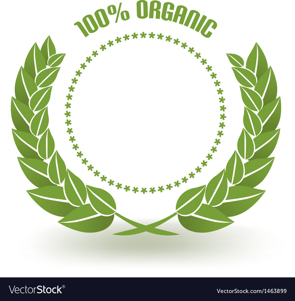 Organic certificate vector | Price: 1 Credit (USD $1)