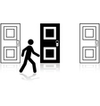 Door choice vector