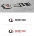 Wheels cars logo vector