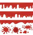 Blood flowing vector