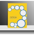 Professional flyer template or corporate banner vector