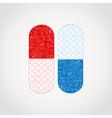 Medicine a tablet vector