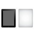 Tablet computer ipad vector