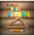 Back to school theme vector