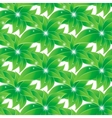 Green leaves seamless background vector