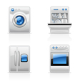 Kitchen appliances vector