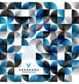 Modern geometric abstract background template vector
