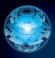 Fantasy navigation sphere vector