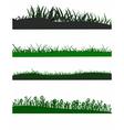 Grass elements vector