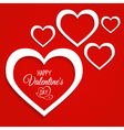 Abstract card for valentines day vector