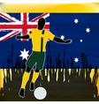 Footbal australia vector