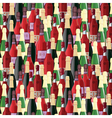 Bottles seamless pattern vector